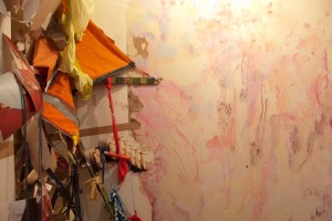 Sian Torrington Installation Exhibition - Inhabitance -  at 83 Kent Terrace