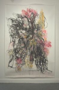 Made of letting 2500 x 1800mm approx charcoal, pencil, graphite and pastel 2012
