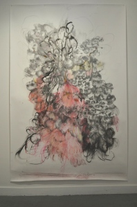 Made of this 2500 x 1800mm approx charcoal, pencil, graphite and pastel 2012