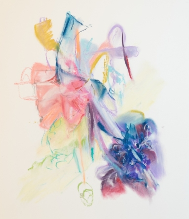 Soft support, 300 x 400mm, pastel on paper 2018 SOLD